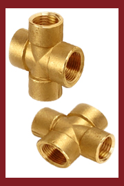 Brass Crossing Pipe Fittings